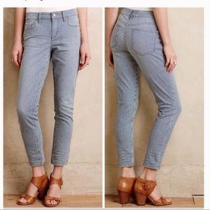 Anthropologie Pilcro Stet Railroad Stripe Jeans
